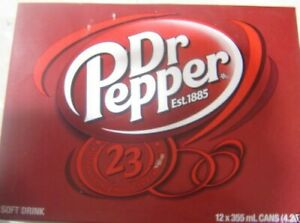 12-CANS-OF-DR-PEPPER-CANADIAN-SODA-POP-12x355ml-CANS-From-Canada