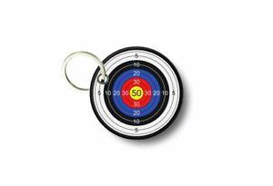 Keychain-keyring-print-patch-morale-iron-biker-target-gun-weapon