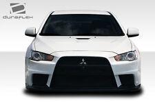 Duraflex Evo X Look Frnt Bumper Cover 1 Pc for 08-15 Mitsubishi Lancer 106953