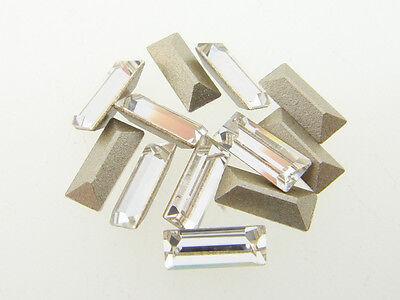 Swarovski Article 4501 7x3mm Baguette Crystal 12 Pieces l
