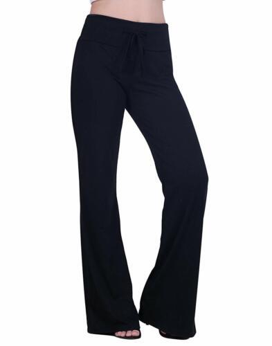 HDE Womens Cotton Pajama Pants Wide Leg Sleepwear Casual Loose Lounge PJ Bottoms