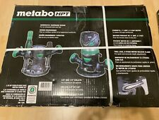 Metabo HPT KM12VC 2-1//4 Peak HP Variable Speed Fixed//Plunge Base Router Kit