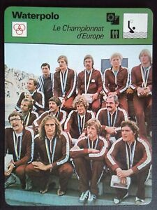 Sheet Editions Rencontre S.A Lausanne Waterpolo Championship of Europe