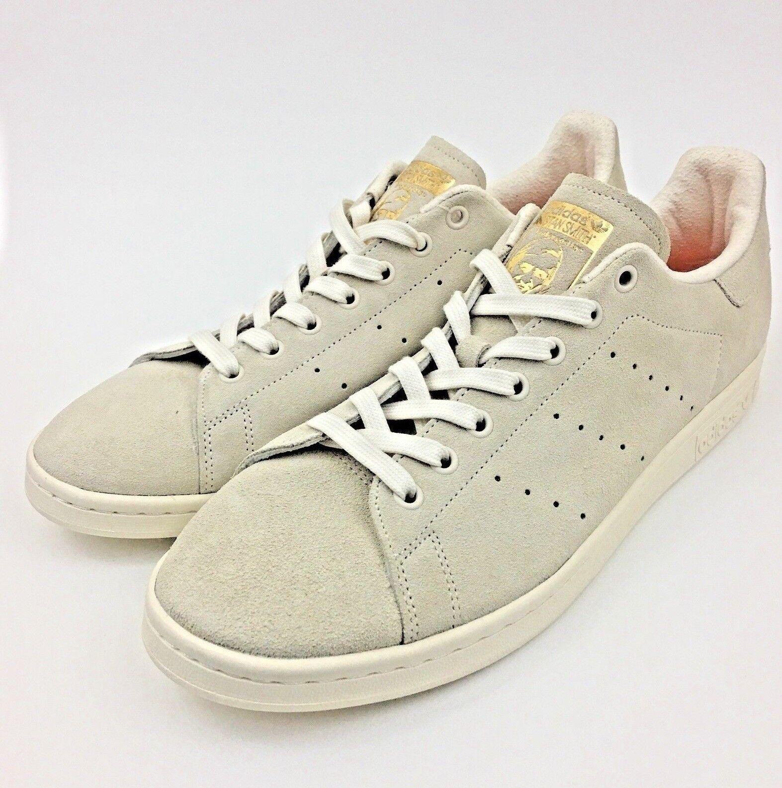 Adidas Originals Stan Smith Suede Trainers Sneaker White BA7441 Men Size US 11.5
