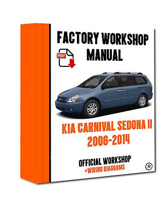 KIA CARNIVAL SEDONA 2002-2006  Service Repair Manual Pdf DOWNLOAD