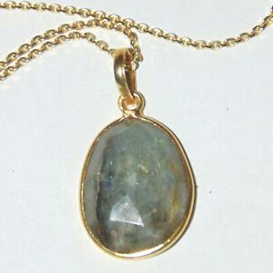 Roughly-oval-faceted-labradorite-gold-over-sterling-silver-pendant-necklace-16-034
