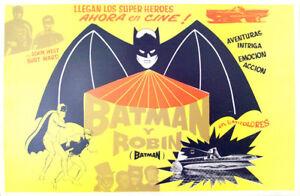 ALL-SCY-FICTION-ONLY-AVAILABLE-24h-BATMAN-BURGESS-MEREDITH-1946-MEXICAN-LOBB
