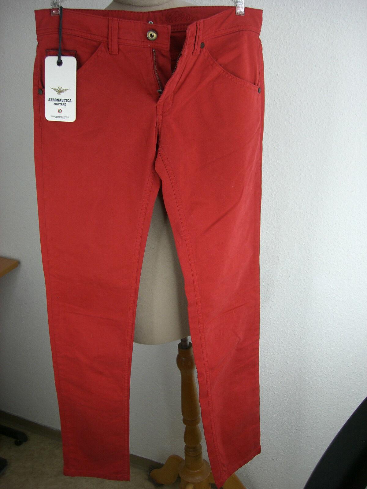 Original Aeronautica Militare Italien Hose Jeans Pantalone Chino neu AM-001