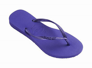 b8bd283d1a9248 Havaianas Women`s Flip Flops Slim Style Purple Sandal Sexy Violet ...