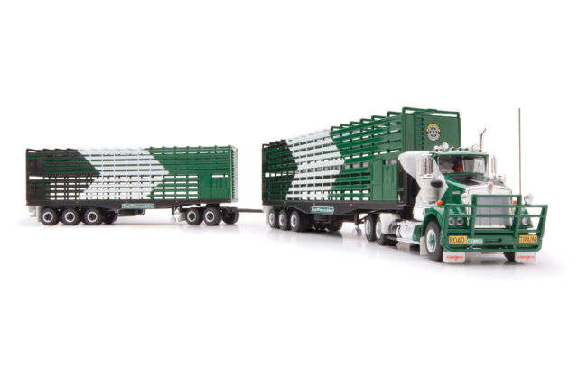 Highway Replicas 12007 Kenworth SAR Truck Livestock Road Train McIver Group 1:64