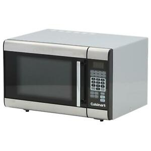 Image Is Loading Cuisinart Countertop Microwave 1 0 Ft Timer Turntable