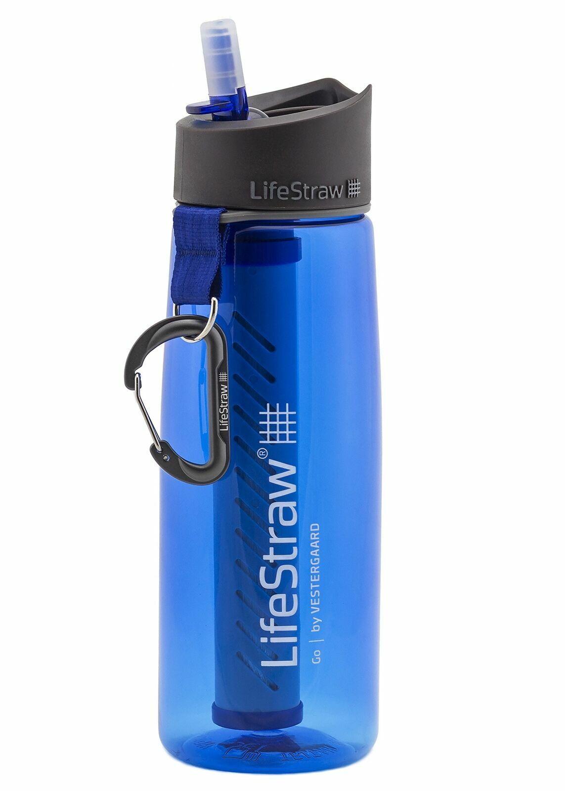 Lifestraw Unisex GO 2STAGE Filtro Bottiglia, Blu, Taglia unica