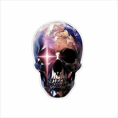 3M Graphics American Flag Skull Crossbone Vinyl Car Window Bumper Sticker Decal