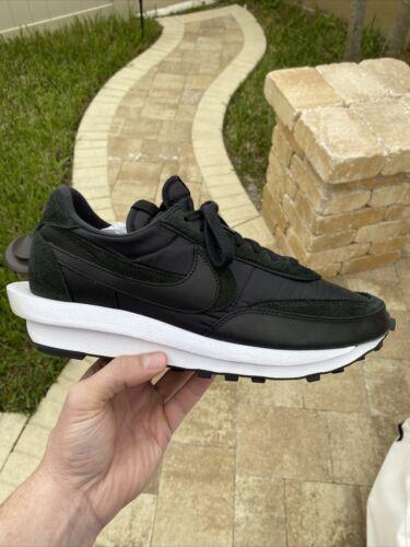 Size 12 - Nike LDWaffle x Sacai Black Nylon 2020