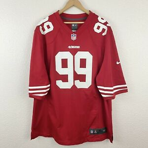 Details about Authentic Nike San Fransisco 49ers Aldon Smith #99 On Field Jersey NFL Men's XL