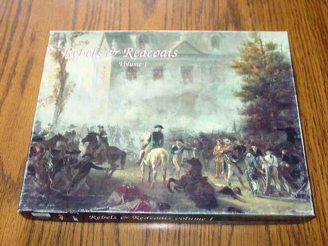 Decision Games - Rebels & Redcoats - Volume 1 - RARE Crain Collection (85% UNP)