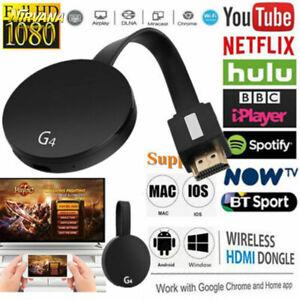2019-Chromecast-4rd-Gen-HDMI-Digital-Video-HD-1080P-Media-TV-Streamer-For-Google
