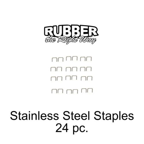 1930-1960 Buick Stainless Staples For Dust Shields Window Felts /& MORE 24 pc
