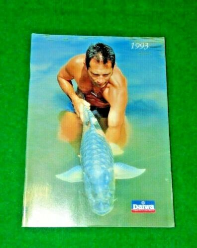 DAIWA CATALOGUE FOR YEAR 1993 VINTAGE FISHING