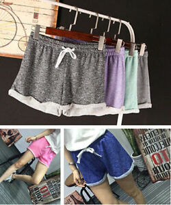 Summer-High-Waist-Lady-039-s-Beach-Pants-Hot-Casual-Short-Shorts-Fashion-Women