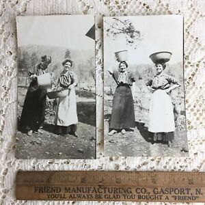 Antique Photo Women Family Homestead 1900s Walker California Chapman Franklin