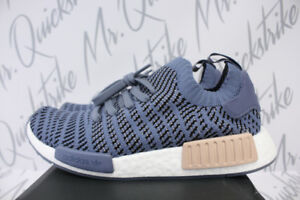 30e2be8b2 WOMENS ADIDAS ORIGINALS NMD R1 STLT SZ 6.5 STEEL ASH PEARL RUNNING ...