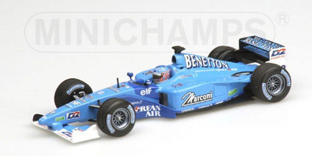 MINICHAMPS 400 010007 430 010097 010098 BENETTON F1 car Fisichella   Button 1 43