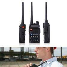 Dual-Band 136-174/400-520 MHz FM Two-Way Radio Transceiver Walkie Talkie US BG