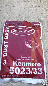 Vacuum cleaner bag fit Sears Kenmore style E 5023 5033  20-5023 & 20-5033 609196