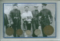 Sheffield Wednesday (The Owls) Vintage F.A Cup Final Winners Coin Gift Set 1935