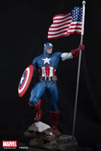 XM-Studios-CAPTAIN-AMERICA-1-4-Statue-BRAND-NEW-SEALED-FREE-SHIPPING-RARE