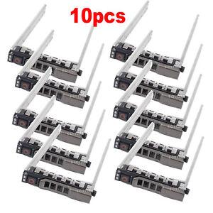 10pcs-Lot-2-5-034-SATA-SAS-HDD-Hard-Drive-Tray-Caddy-For-Dell-PowerEdge-R620-NEW