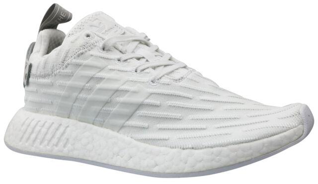 Damen adidas NMD R2 weiß grau Zwei Turnschuhe 40 23 günstig