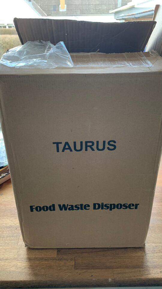 Køkkenkværn., Taurus. Food.