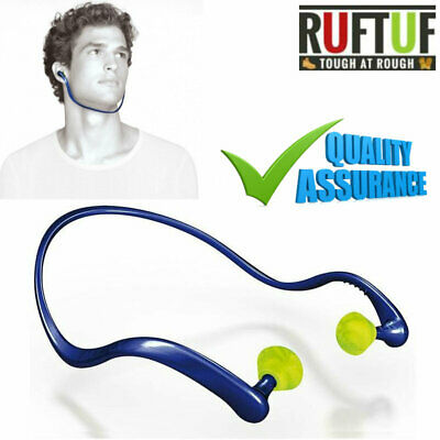 Pair of Banded EAR PLUGS Ear Defenders Hearing Protectors Noise Reduction
