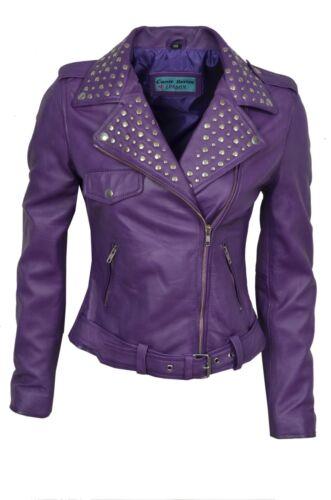 vera italiana in di pelle donna Napa giacca stile lusso da Elegante OxYqwf
