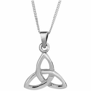 Celtic-Trinity-Knot-Sterling-Silver-Small-Pendant