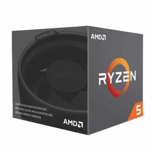 AMD Ryzen 5 2600 3.4GHz 6-Core AM4 Boxed Processor with Wraith Stealth Cooler 730143309165