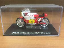 """DIE CAST """" DUCATI 450 DESMO 1970 - BRUNO SPAGGIARI  """" SCALA 1/24"""
