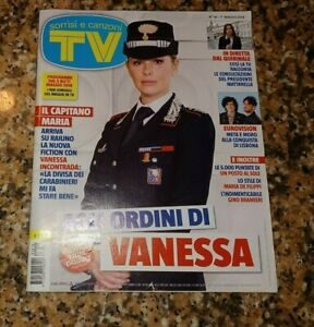 TV SORRISI E CANZONI N.18 2018-Vanessa Incontrada-G.Morandi-De Filippi-META MORO
