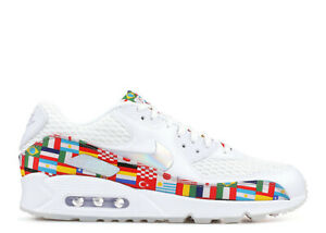 e5fd80f2b Nike Air Max 90 NIC QS SZ 10 World Cup International Flag Olympic ...