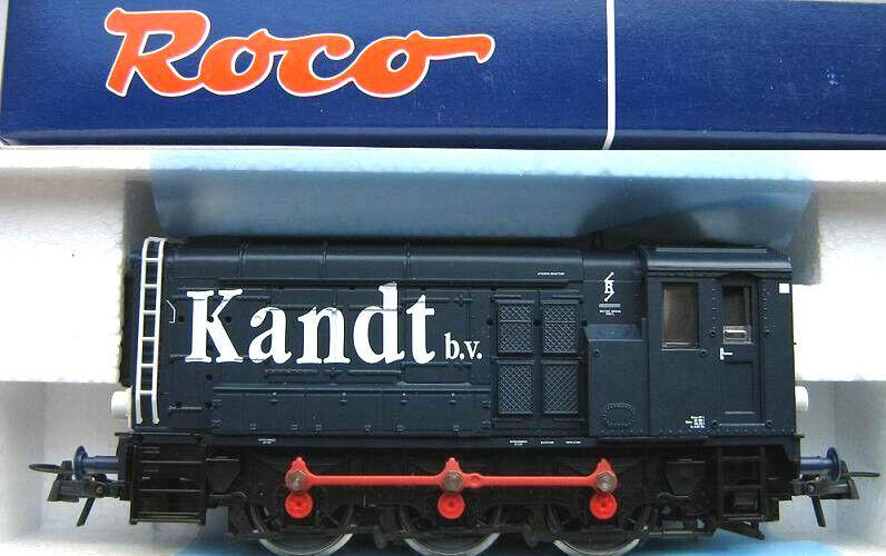 Roco h0 63956 diesellok serie 500 600 kandt B.V. privatlok ep.5 nuevo embalaje original