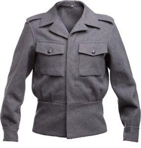 6a238bbebff Vintage Finnish army wool jacket Finland army grey wool jacket M65 ...