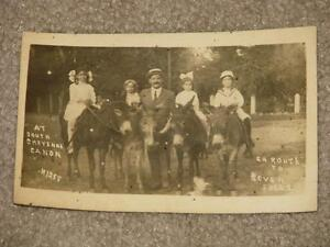 RPPC, South Cheyenne Canon, Colorado, En Route to Seven Falls, early 1900`s