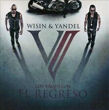 Wisin & Yandel: Los Vaqueros: El Regreso  Audio CD