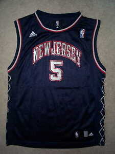 ADIDAS New Jersey NJ Nets JASON KIDD nba THROWBACK Jersey YOUTH KIDS ... 9b4b6fab4