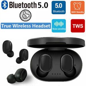 Bluetooth-Wireless-AirDots-True-TWS-5-0-Earphone-Earbuds-Headset-Headphone-2019