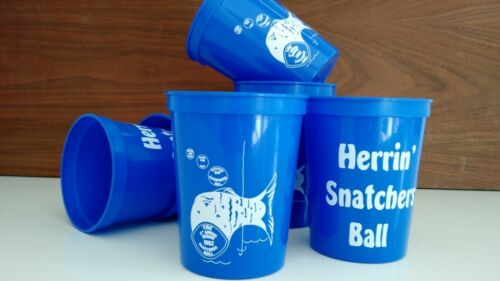 Herrin Snatcher's Ball Party Cups Set of 6