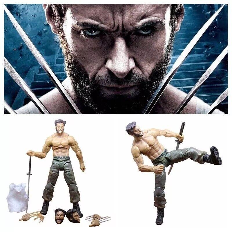 7  Marvel Leyenda Comics X-hombre Wolverine juguetes de acción con Caja Original