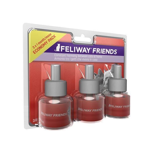 Feliway Friends Diffuser Refill's - 3 x 48ml